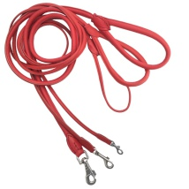 Round Leash - Red