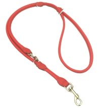 Round Ajustable Leash - Red
