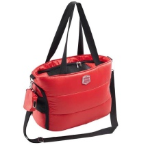 Red Padded Pet Bag