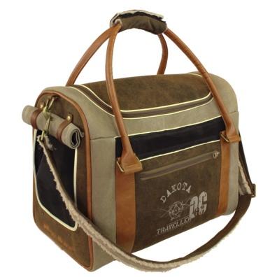 Dakota-Inn Bag - Khaki/Brown