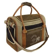Dakota-Inn Bag - Khaki/Brown 40x30x20cm