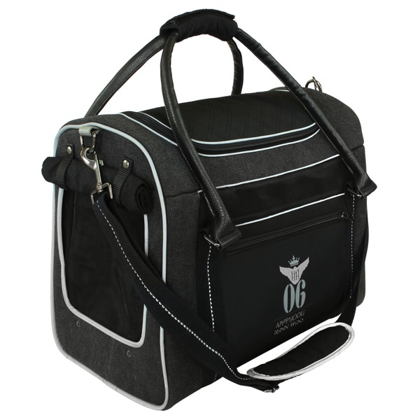 Aviator Canvas Bag - Black