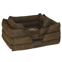 Tough Canvas Bed - Brown