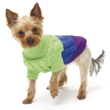 Candy Sweater - Gree/Blue/Lilac
