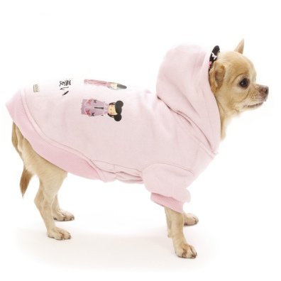Tokyo Reversible Sweater w Butterfly Lining - Baby Pink