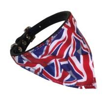 Bandana w Black Collar - British