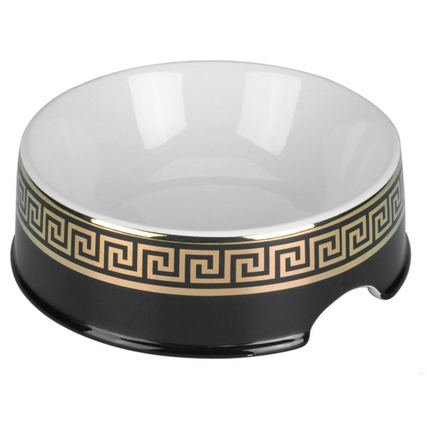 Porcelain Bowl Cairo - Black/Gold