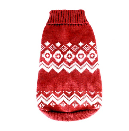 Trondheim (for PUGS&Co) Sweater - Red