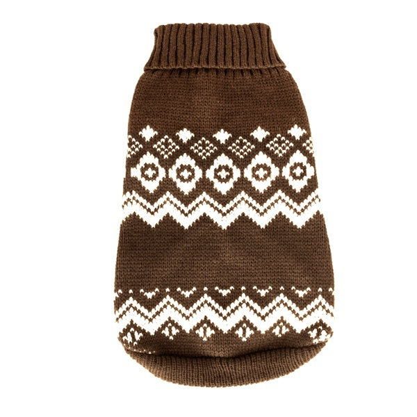 Trondheim (for PUGS&Co) Sweater - Brown