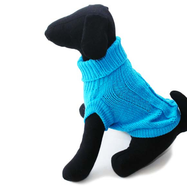 Hannover Cable Sweater - Aqua
