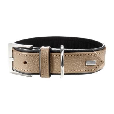 Leather Khaki Collar