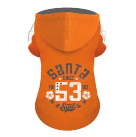 Hoodie Santa Cruz  - Orange