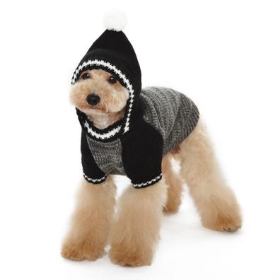 Hoodie Sweater - Black/Grey