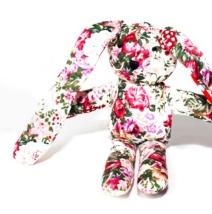 Floral Rabbit Toy