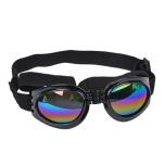 Pet Glasses - Black Width: 17cm Chin Strap: max33cm Head Strap max40cm
