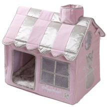 Luxury Living Cat Villa - Pink