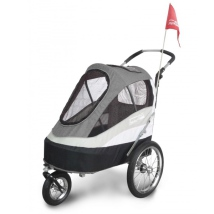 Sporty Dog Trailer Deluxe Max weight: 30KG - Black/Grey
