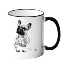 Mug w French Bulldog
