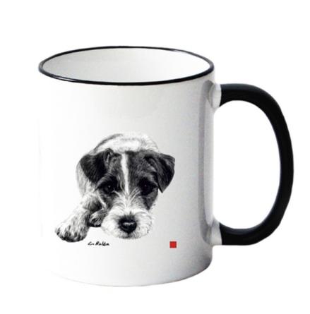 Mug w Jack Russel 8,5x10cm