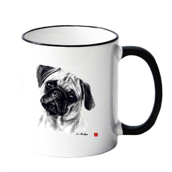 Mug w Pug 8,5x10cm
