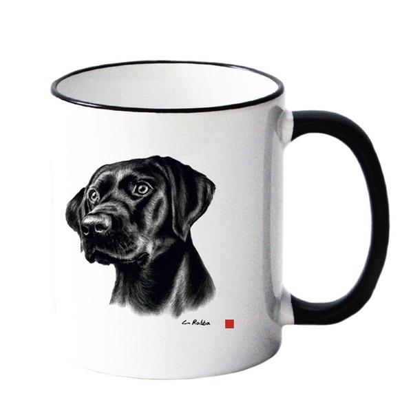 Mug w Labrador 8,5x10cm