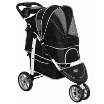 Buggy Deep Black MAX 25kg Incl. Rain Cover