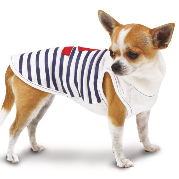 Sailor Tee - White Striped