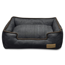 Treston Denim Bed - Antrasit