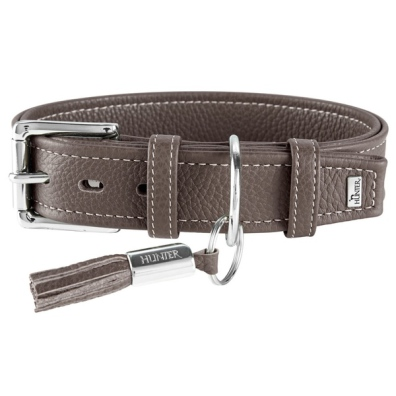 Montignac Leather Collar - Brown