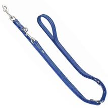 Montignac Leather Leash - Blue