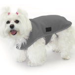 Double Layer Fleece Coat - Grey