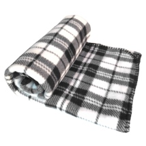 Blanket Checked Patern - White/Black
