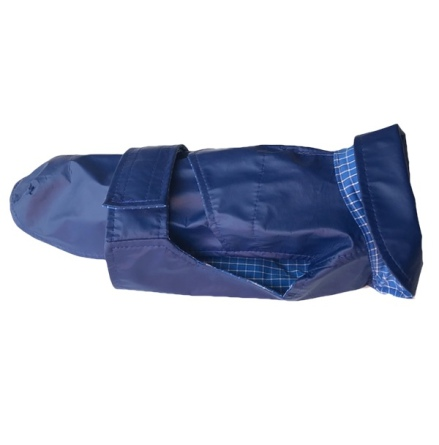 Rainproof Coat - Royal Blue - Waterproof