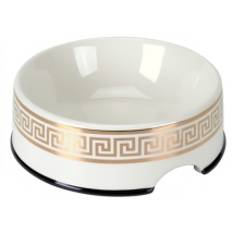Porcelain Bowl Cairo - White/Gold