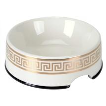 Porcelain Bowl Cairo - White/Gold