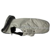 Narvik Fleece Coat Fur Collar - Beige