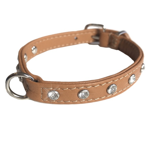 Tana Leather Collar - Tan
