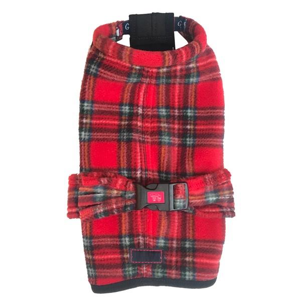 Fleece Coat - Scottish Red