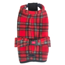 Fleece Coat - Scottish Red
