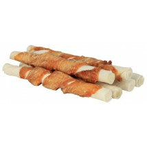 Chewing stick with chicken 12cm 6pcs/70g
