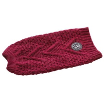 Hazelton Knitted Pullover - Bordeaux
