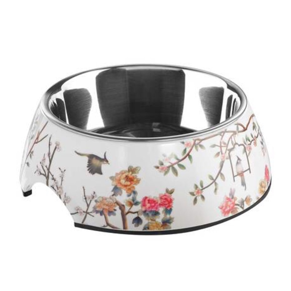Flowers & Birds Bowl - White
