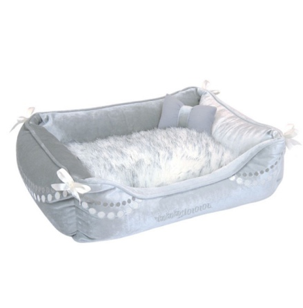 Dream Fur Bed - Silver Grey