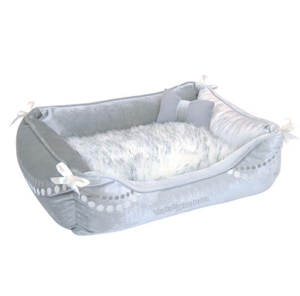 Dream Fur Bed - Silver Grey
