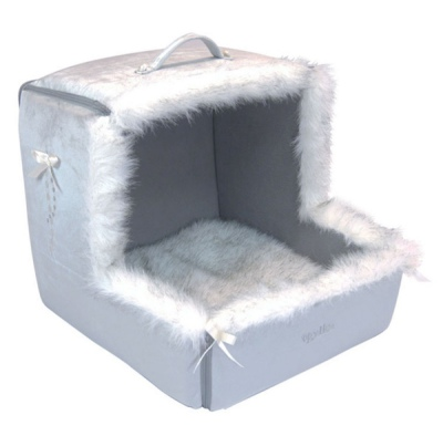 Dream Fur Cradle - Silver Gray