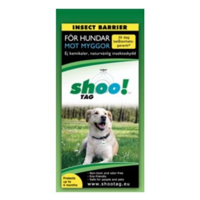 Shoo!tag skydd mot mygga för hundar