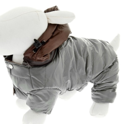 DOWN JACKET COOL DOG GREY