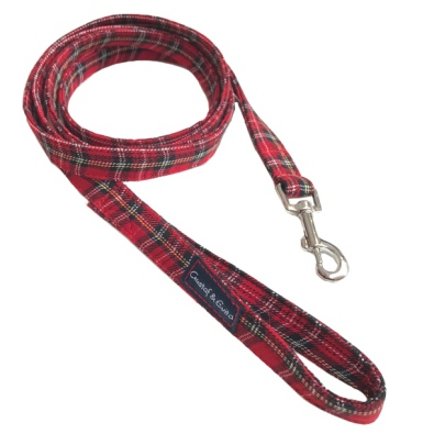 Scottish red leash 20mm*180cm