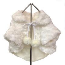 Marilyn M soft white coat 25cm