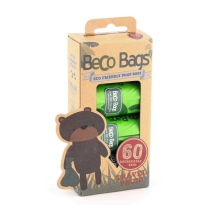 Eco Friendly Small Poobags - Green 60